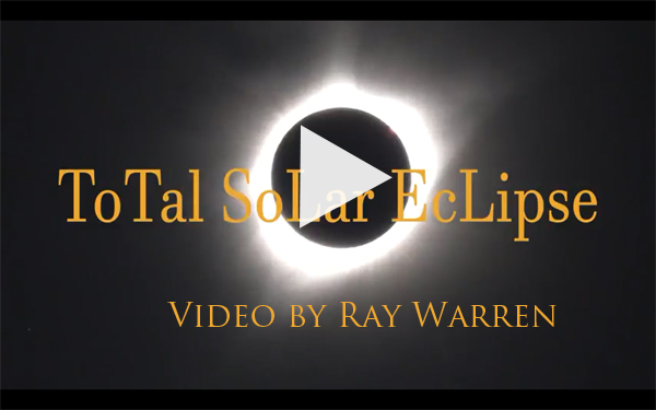 Eclipse Video at Toadstock by Ray Warren
